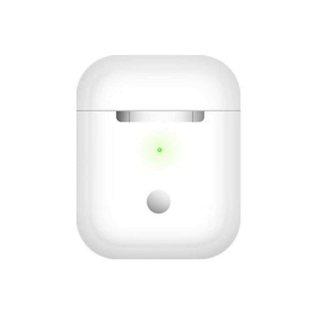 white airpods case