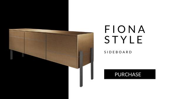 sideboard Fiona brass