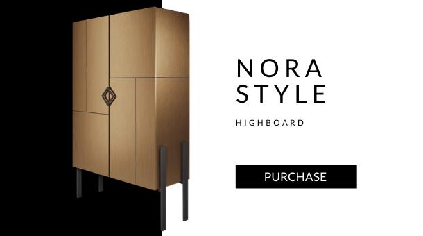 Nora highboard laton